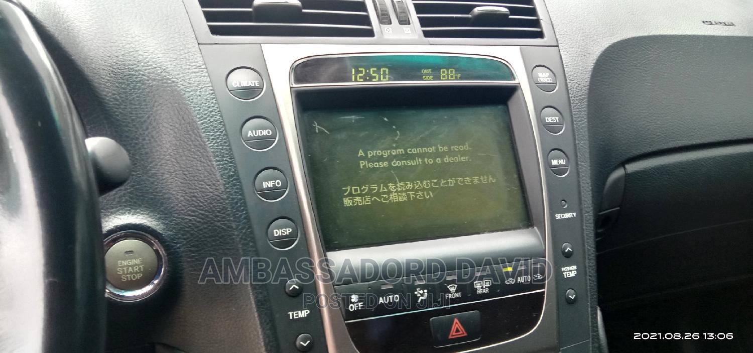 Lexus GS 2007 350 Black   Cars for sale in Port-Harcourt, Rivers State, Nigeria