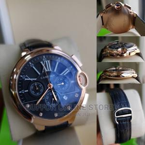 Cartier Leather Wristwatch   Watches for sale in Lagos State, Surulere