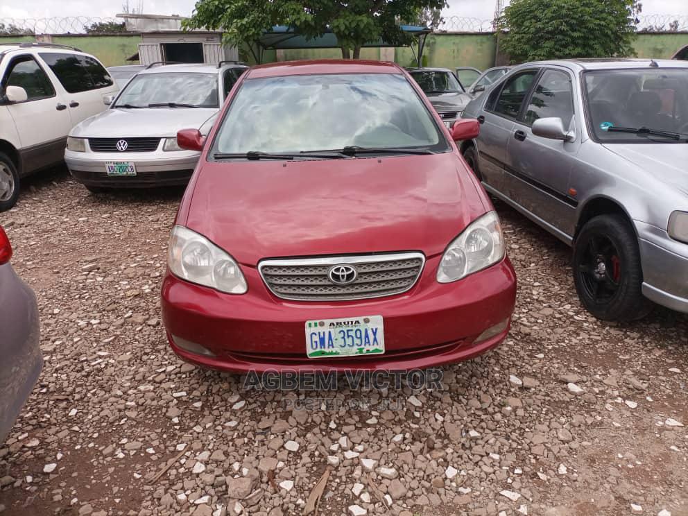 Toyota Corolla 2005 LE Red | Cars for sale in Jabi, Abuja (FCT) State, Nigeria