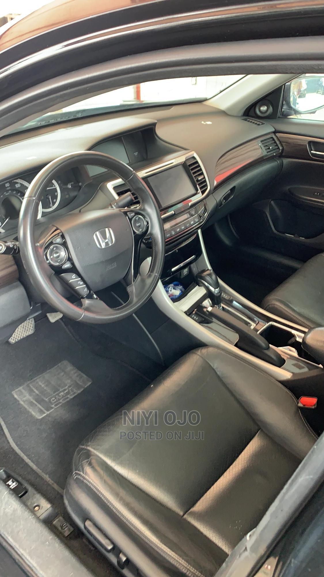 Honda Accord 2016 Black | Cars for sale in Ajah, Lagos State, Nigeria
