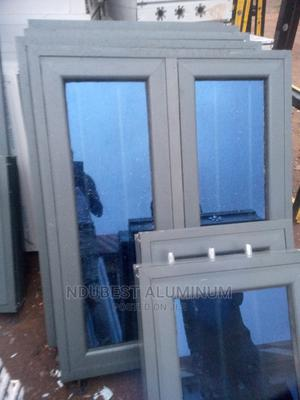 3 Fit by 4 Fit Window Gray Materila | Windows for sale in Anambra State, Onitsha