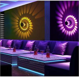 RGB Spiral Hole LED Wall Light Effect Wall Lamp Colorful   Home Accessories for sale in Lagos State, Lekki