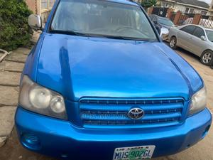 Toyota Highlander 2004 Limited V6 4x4 Blue   Cars for sale in Oyo State, Oluyole