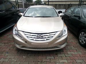 Hyundai Sonata 2012 Gold | Cars for sale in Lagos State, Magodo