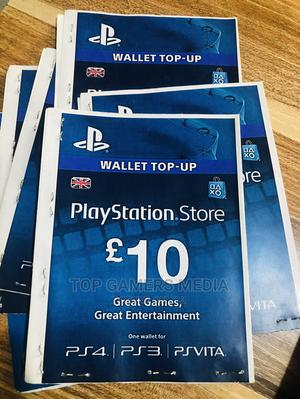 £10 Psn Gift Card   Video Game Consoles for sale in Lagos State, Agege
