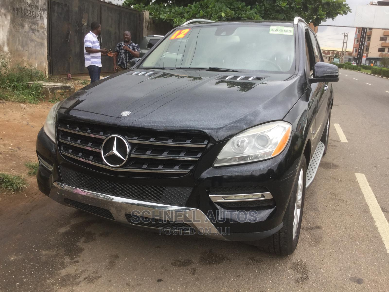 Mercedes-Benz M Class 2012 Black   Cars for sale in Ikeja, Lagos State, Nigeria