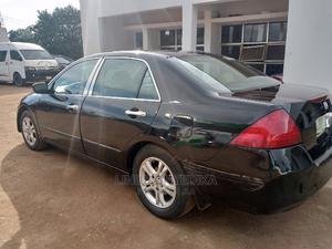 Honda Accord 2007 2.4 Type S Black | Cars for sale in Abuja (FCT) State, Gwagwalada