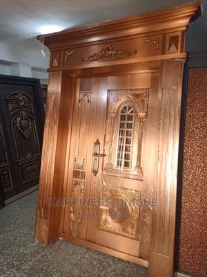 4ft Original Real Copper Door (Cap and Pillar) | Doors for sale in Lagos State, Orile