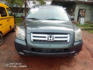 Honda Pilot 2006 LX 4x4 (3.5L 6cyl 5A) Green | Cars for sale in Lagos State, Ikeja