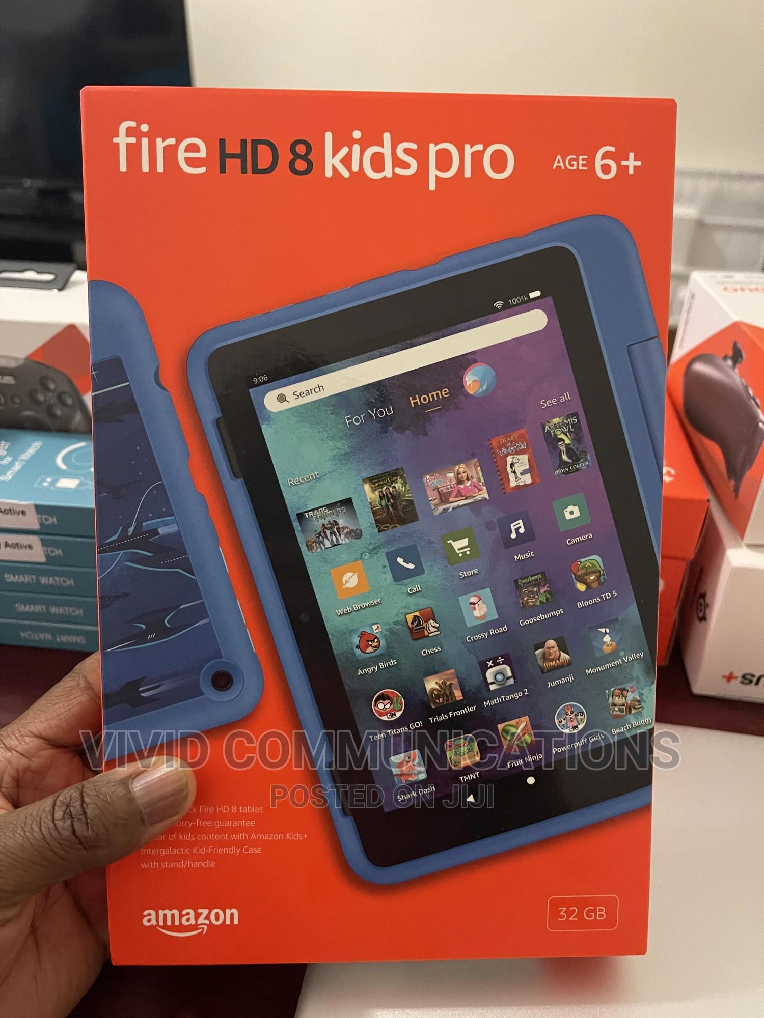 New Amazon Fire HD 8 Pro 32 GB Blue