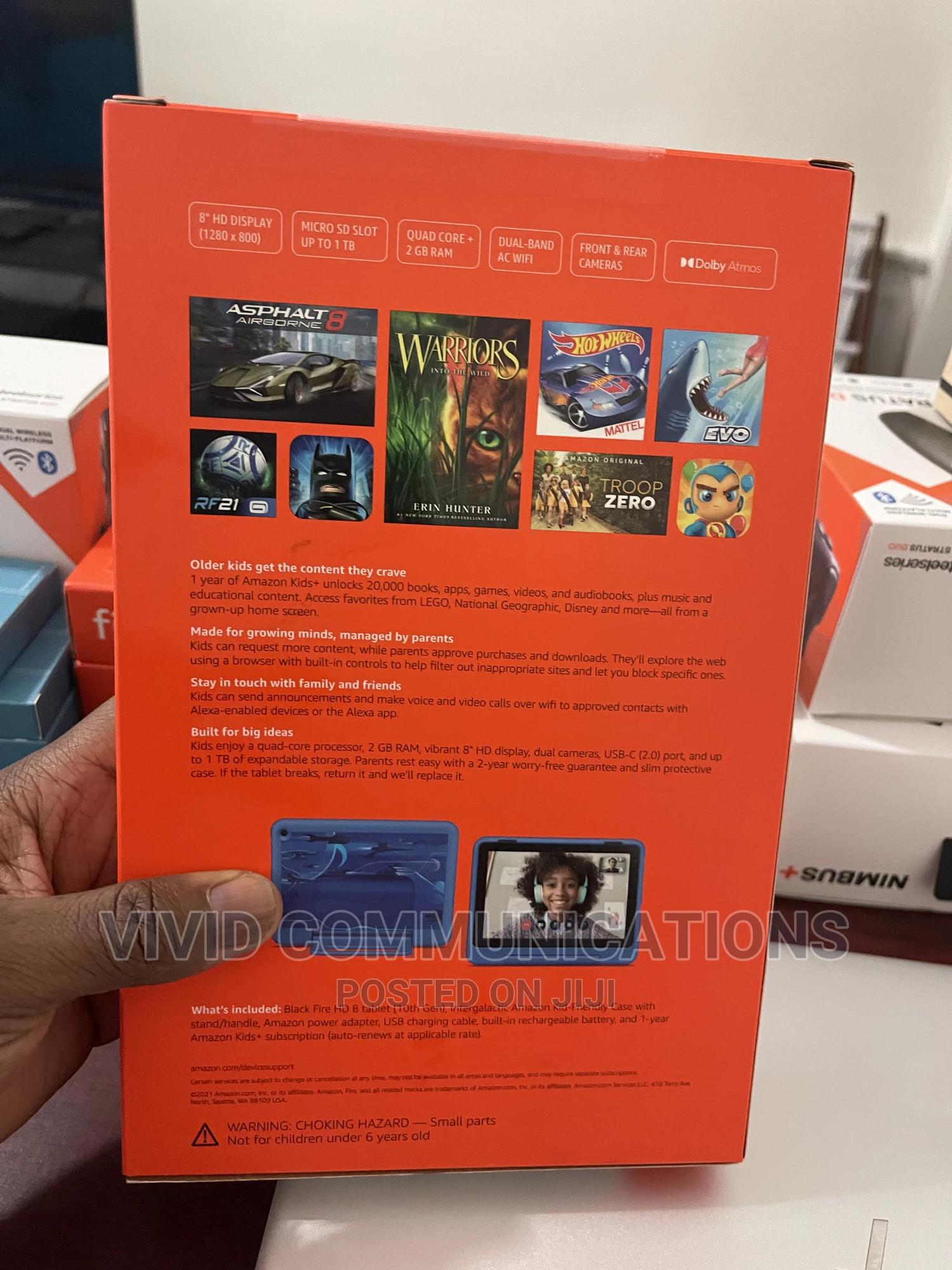 New Amazon Fire HD 8 Pro 32 GB Blue | Tablets for sale in Maryland, Lagos State, Nigeria