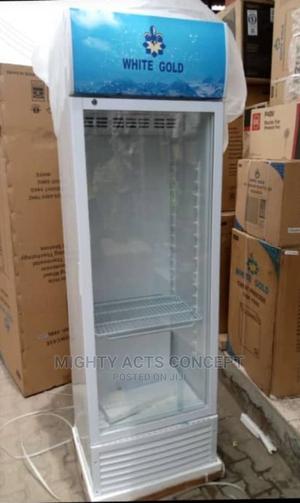 White Gold Showcase Standing Fridge   Store Equipment for sale in Lagos State, Lekki