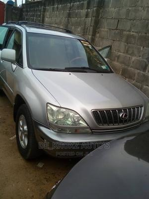 Lexus RX 2002 300 4WD Silver | Cars for sale in Lagos State, Ikeja