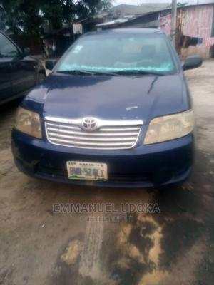 Toyota Corolla 2006 1.6 VVT-i Blue   Cars for sale in Rivers State, Port-Harcourt