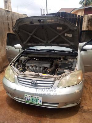 Toyota Corolla 2003 Sedan Automatic Silver | Cars for sale in Oyo State, Oluyole