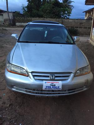 Honda Accord 2002 EX Automatic Silver | Cars for sale in Ekiti State, Ado Ekiti