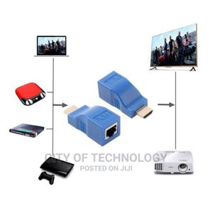 Hdmi Extender 30m Cat5e/Cat6 Ethernet Cable Hdmi | Computer Accessories  for sale in Lagos State, Ikeja