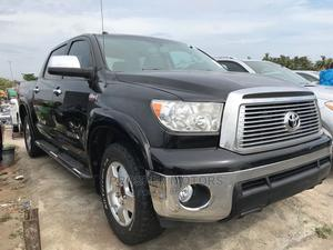 Toyota Tundra 2012 Double Cab 4x4 Limited Black | Cars for sale in Lagos State, Apapa