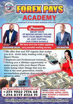 Go Global Business Ventures, Now Recruiting | Advertising & Marketing CVs for sale in Enugu State, Enugu