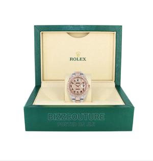 High Quality Iced Out ROLEX Rose Gold Available for Sale | Watches for sale in Lagos State, Ikoyi