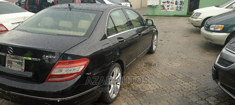 Mercedes-Benz C300 2008 Black   Cars for sale in Ikeja, Lagos State, Nigeria
