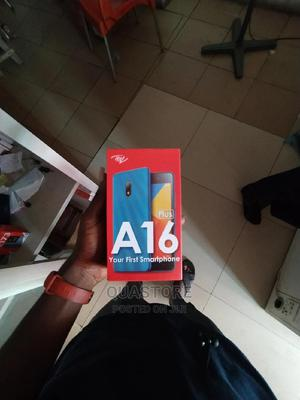 New Itel A16 Plus 8 GB Black | Mobile Phones for sale in Oyo State, Ibadan