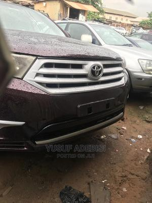 Toyota Highlander 2008 Limited Purple   Cars for sale in Lagos State, Ikeja