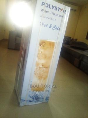 Polystar Water Dispenser With Freezer and Fridge PV-R6JX-5RF | Kitchen Appliances for sale in Lagos State, Alimosho