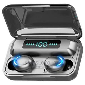 Tws Wireless Bluetooth Headset With Power Bank - Black   Headphones for sale in Lagos State, Ikeja