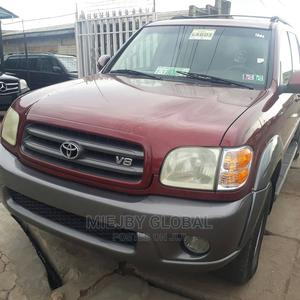 Toyota Sequoia 2004 Red | Cars for sale in Lagos State, Ifako-Ijaiye