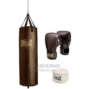 Punching Bag With Glove | Sports Equipment for sale in Lagos State, Lekki