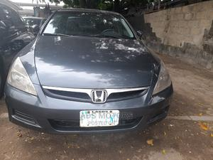 Honda Accord 2007 2.0 Comfort Automatic Gray | Cars for sale in Lagos State, Surulere