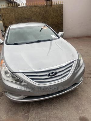 Hyundai Sonata 2013 Silver   Cars for sale in Lagos State, Surulere