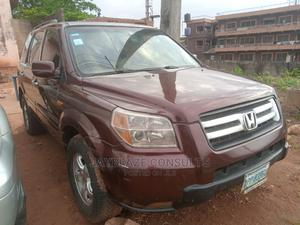 Honda Pilot 2006 EX 4x4 (3.5L 6cyl 5A) Red | Cars for sale in Lagos State, Ikorodu