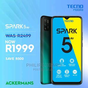 Tecno Spark 5 Air 32 GB Blue | Mobile Phones for sale in Lagos State, Ibeju