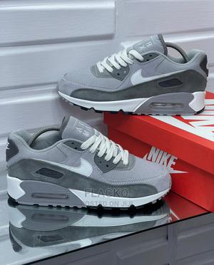 Original Nike Air Max 90 Premium Gray Sneakers Available   Shoes for sale in Lagos State, Surulere