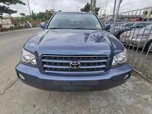 Toyota Highlander 2002 Limited V6 FWD Blue   Cars for sale in Lagos State, Amuwo-Odofin