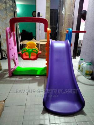 Brand New Slide With Swing and Basketball | Toys for sale in Rivers State, Port-Harcourt