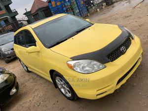 Toyota Matrix 2004 Yellow | Cars for sale in Lagos State, Ojodu