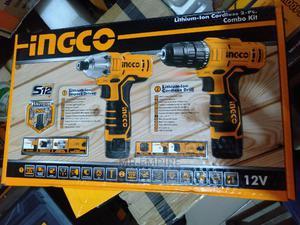 INGCO Lithium-lon Cordless 2-pcs Combo Kit   Electrical Hand Tools for sale in Lagos State, Lagos Island (Eko)