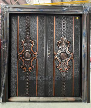 5 by 7 Copper Luxury Security Double Door | Doors for sale in Lagos State, Orile