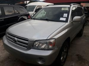 Toyota Highlander 2005 V6 Silver   Cars for sale in Lagos State, Ifako-Ijaiye