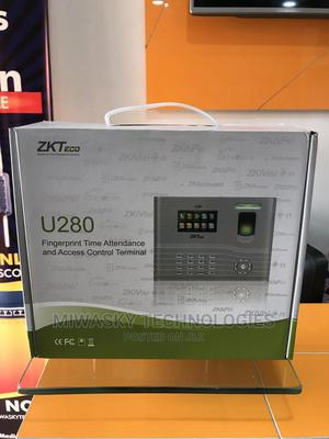 Zkteco U280 Fingerprint Time Attendance and Access Control | Security & Surveillance for sale in Abuja (FCT) State, Utako