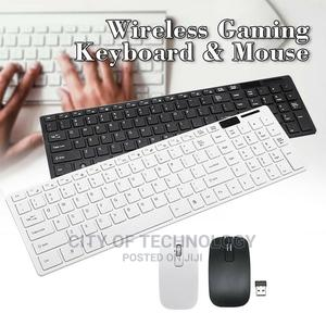 Wireless Keyboard And Mouse White Or Black | Computer Accessories  for sale in Lagos State, Surulere