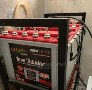 Quality Standard GSR Tubular Battery 12v 230ah | Solar Energy for sale in Lagos State, Ojo