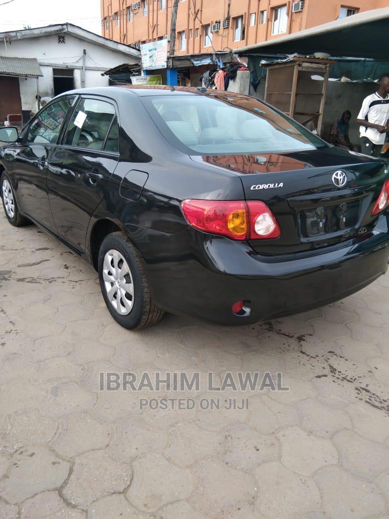 Toyota Corolla 2010 Black   Cars for sale in Amuwo-Odofin, Lagos State, Nigeria