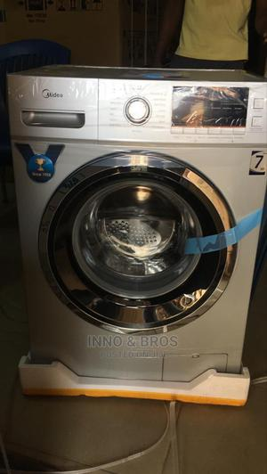 Midea Front Loader Automatic Washing Machine 7kg   Home Appliances for sale in Lagos State, Ikeja