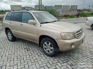 Toyota Highlander 2005 Gold | Cars for sale in Rivers State, Port-Harcourt