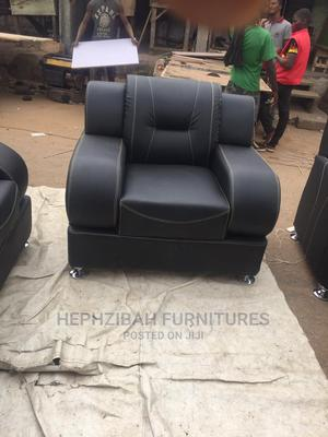 7 Seaters Complete Leather Sofa Set   Furniture for sale in Ogun State, Abeokuta South