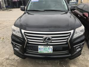 Lexus LX 2015 570 (5 Seats) AWD Black | Cars for sale in Lagos State, Ajah